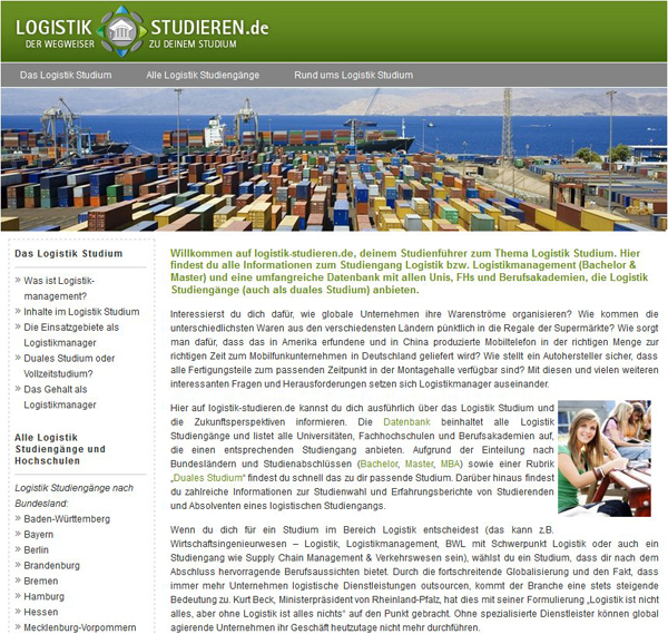 Transport logistik jobb rse karriereportal nachrichten for Logistik studium